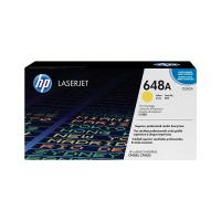 HP 648A Yellow Original LaserJet Toner Cartridge CE262A