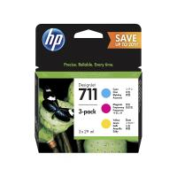 HP 711 color Ink Cartridges Set - Yellow, Magenta, Cyan for HP DesignJet T520 printer